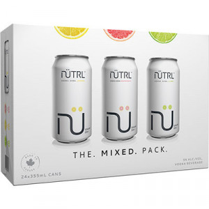 Nutrl Vodka Soda Variety Pack