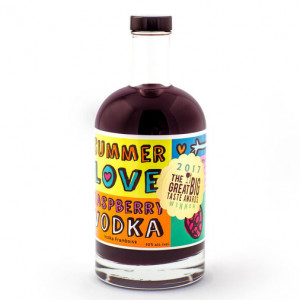 Summer Love Raspbery Vodka