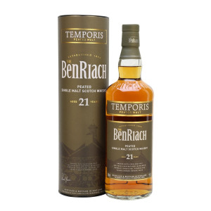 Benriach 21 Year Old Temporis Peated