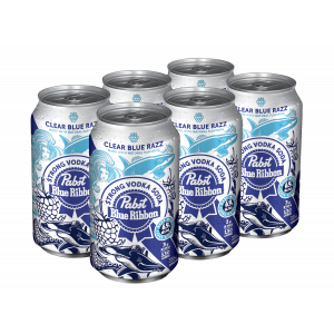 Pabst Vodka Soda Blue Raspberry 6 Cans